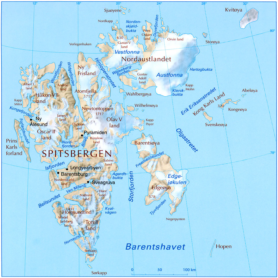 kart over longyearbyen Barentsburg; Russian settlements on Svalbard kart over longyearbyen